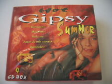 HOT Gipsy Summer - 4cd BOX-latino canzoni (4 CD-Box) MERCE NUOVA NEW