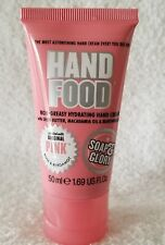 Soap & Glory HAND FOOD Hydrating Hand Cream Non-Greasy Og Pink 1.69 oz/50mL New