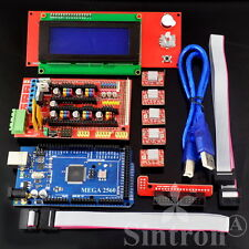 RAMPS 1.4 Kit + Mega 2560 + 5pcs A4988 + LCD 2004 Display For 3D Printer RepRap