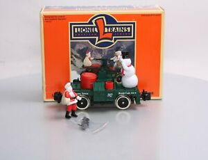 Lionel 8-87212 Santa and Snowman Handcar LN/Box