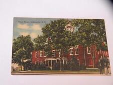 VINTAGE POSTCARD COURT HOUSE JACKSONVILLE NC linen