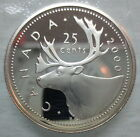 2000 CANADA 25 CENTS PROOF SILVER QUARTER COIN