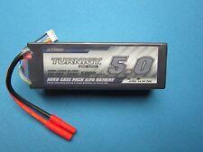 TURNIGY 5000mAh 4S LIPO BATTERY 14.8V HARDCASE 4MM HXT TRAXXAS DEANS T EC3/5 RC
