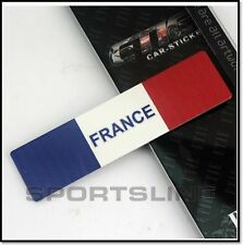 France French Flag Car Badge Decal Emblem Logo Sticker Motor Sport National T6