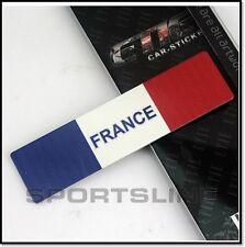 Francia Bandera Francesa coche calcomanía adhesivo con el logotipo Emblema Insignia Nacional deporte del motor T6