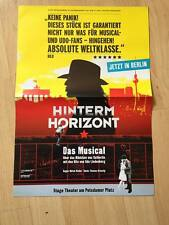 Udo Lindenberg - Poster - Werbeflyer - Hinterm Horizont - ca. 52x42 cm
