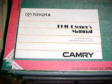 1999 TOYOTA CAMRY OWNERS MANUAL