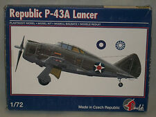 Pavla 1/72 Scale Republic P-43A Lancer - Missing Decals