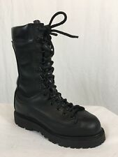 Corcoran Matterhorn Gore Tex Combat Jump Boots Mens 5 M Black Leather USA Made