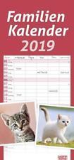 Times&more Katzen Familienplaner - Kalender 2019