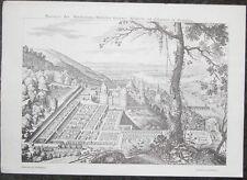 Reproduktion Ansichten & Landkarten von Baden-Württemberg