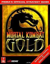 Mortal Kombat Prima's Official Strategy Guide (1999, Paperback) New!