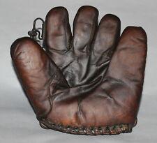 Antique Vintage 1930s James Brine Co. Dave Bancroft split finger baseball glove