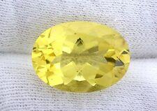 18x13 18mm x 13mm Rich Yellow Citrine Color Oval Cut Quartz Gemstone Gem EBS2768
