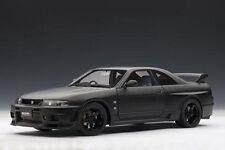 1/18 AUTOart NISSAN SKYLINE GT-R (R33) R-TUNE (MATT BLACK) 1996