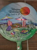 Happy Retirement Foil Balloon Medium New