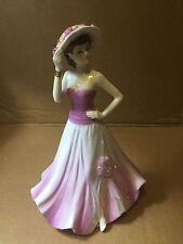 Carol Figurine Coalport Ladies Of Fashion Limited Edition Stunning