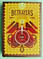 Betrayers Lucis Playing Cards Deck USPCC Limited Edition Poker Size New Sealed