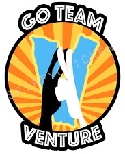 Go Team Venture Venture Brothers Decal Wall Auto Home Bumper Sticker