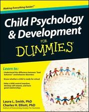 Child Psychology and Development for Dummies by Consumer Dummies Staff,...