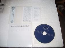 PAT METHENY GROUP - FIRST CIRCLE - JAPAN CD MINI LP opened