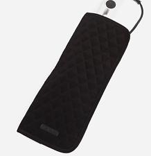 Vera Bradley Curling & Flat Iron Tapa Microfibra clásico negro resistente al calor