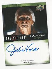 Julia Vera The X Files Ufos & Aliens Paranormal Script Autograph Card Auto