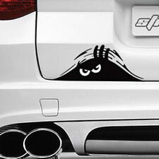 Exterior Rear Window Decorative Angry Peeking Monster Decal Car Auto Sticker