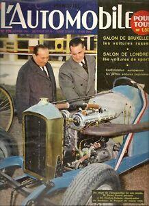L'AUTOMOBILE 178 1961 NECKAR WEINSBERG, SALON DE BRUXELLES, RALLYE MONTE CARLO