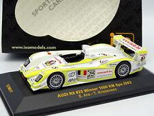 Ixo 1/43 - Audi R8 N°25 Winner SPA 2003
