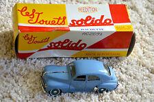 voiture miniature - PEUGEOT 203 Berline 1954 - 1/43 - en boite Solido