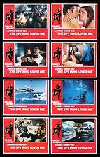 THE SPY WHO LOVED ME * CineMasterpieces JAMES BOND LOBBY CARD SET MOVIE POSTERS