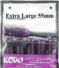 Kodo LOCK AND ROLL Blowdry Click Brush Set 6 x Brushes - PURPLE EXTRA LARGE 55mm