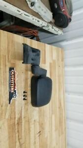 Jeep TJ Wrangler OEM Driver Side Left Mirror Black 55395061AB 03-06 26483