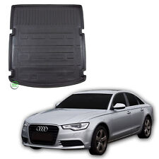 Tailored Boot tray liner car mat Heavy Duty for AUDI A6 C7 SALOON 2011-2018