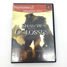 PS2 Shadow of the Colossus Sony PlayStation 2 CIB NICE! PLEASE SEE NOTES