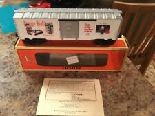 Vintage Lionel Trains 1997 Christmas Boxcar #6-16272 Very Gently Used In Box