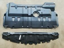 2004-09 MAZDA3 Under Front Bumper Lower Engine Cover Splash Shield SET PAIR 2PCS