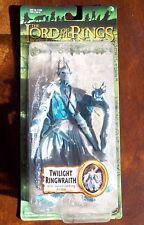 LOTR. TWILIGHT RINGWRAITH ACTION FIGURE. W/ SWORD JABBING ACTION. NEW ON CARD