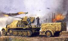 Trumpeter Sd.Kfz. 7/2 3,7cm Cañón antiaéreo 37