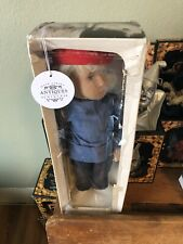Sasha Blonde Girl Doll With Red Beret Dressed In Denim With Original Box