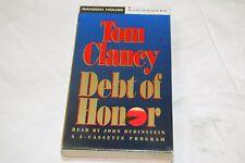 Jack Ryan: Debt of Honor by Tom Clancy (1994, Cassette, Abridged) NEW Audiobook