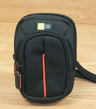 Genuine Case Logic Small Nylon Digital Camera Bag / Pouch With Strap **READ**