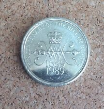 1x 1989 -  £2 TWO POUND COIN TERCENTENARY OF BILL OF RIGHTS  COIN