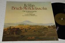 Leonid Kogan Bruch Mendelssohn Violin Concerto Maazel German Stereo ED1 NM