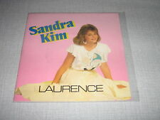 SANDRA KIM 45 TOURS BELGIQUE LAURENCE