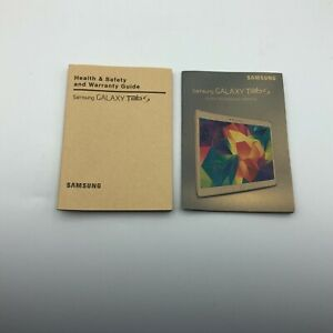 2004 Samsung Galaxy Tab S Quick Reference Manual+ Health Safety Warranty Lot V2