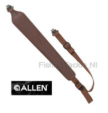 Allen Cobra Padded Leather Rifle Sling Hunting Shooting #8145 w/ Swivels