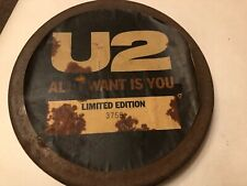 "RARE U2, All I Want Is You, Original UK Ltd edition 7"" vinyl single in TIN CASE"