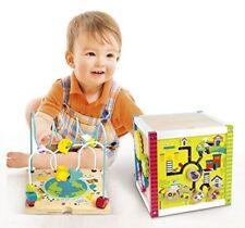 Cube éducatif en bois